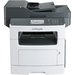 Lexmark MX511 MX511DE Laser Multifunction Printer - Monochrome - Copier/Fax/Printer/Scanner - 45 ppm Mono Print - 1200 x 1200 dpi Print - Automatic Duplex Print - 1200 dpi Optical Scan - 350 sheets Input - Gigabit Ethernet