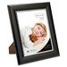 "First Base Elementals 8x10 Easy Insert Frame Satin Mocha - 8"" x 10"" Frame Size - Rectangle - Tabletop, Wall Mountable - Landscape, Portrait - Swivel Clip, Hanger, Hinged Easel - 1 Each - Metal, Satin - Mocha"