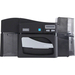 "Fargo DTC4500E Dye Sublimation/Thermal Transfer Printer - Color - Black, Gray - Desktop - Card Print - 2.11"" Print Width - Auto Feed - 6 Second Mono - 16 Second Color - 300 dpi - Adhesive Backed Card, PVC Card, Polyester Card, Optical Media Card"