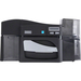 "Fargo DTC4500E Dye Sublimation/Thermal Transfer Printer - Color - Desktop - Card Print - 2.11"" Print Width - Auto Feed - 6 Second Mono - 16 Second Color - 300 dpi"