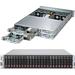 Supermicro SuperServer 2027PR-HC0FR Barebone System - 2U Rack-mountable - Intel C606 Chipset - 4 Number of Node(s) - Socket R LGA-2011 - 2 x Processor Support - Black - 1 TB DDR3 SDRAM DDR3-1866/PC3-15000 Maximum RAM Support - 12Gb/s SAS RAID Supported Co