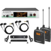 Sennheiser EW300-2IEMG3-G Wireless Microphone System - 566 MHz to 608 MHz Operating Frequency - 25 Hz to 15 kHz Frequency Response