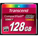 Transcend Premium 128 GB CompactFlash - 120 MB/s Read - 60 MB/s Write - 800x Memory Speed