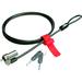 Kensington MicroSaver 64605M DS UltraThin Cable Lock - Carbon Steel - 4.9 ft