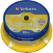 Verbatim 43489 DVD Rewritable Media - DVD+RW - 4x - 4.70 GB - 25 Pack Spindle - 120mm