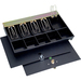 MMF Cash Drawer Cover with Flat Key Lock - Keyed Alike Lock - Steel, Plastic