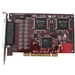 Comtrol RocketPort Plus uPCI Octa DB9 Multiport Serial Adapter - Universal PCI - 8 x DB-9 Male RS-422 Serial Via Cable - Plug-in Card - DB-9 Fan-out Cable