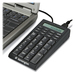 Kensington 72274 Notebook Keypad/Calculator with USB Hub - PC & MAC Compatible - Cable Connectivity - USB Interface - 19 Key - Computer - PC