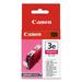 Canon BCI-3eM Original Ink Cartridge - Inkjet - 520 Pages - Magenta - 1 Each