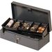 "MMF Steelmaster 2212CBTGY Cash Box - Gray - 5.20"" (132.08 mm) Height x 10.40"" (264.16 mm) Width x 3.10"" (78.74 mm) Depth"