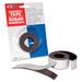 "Filemode Platinum Peel-N-Stick Magnetic Tape - 10 ft (3 m) Length x 1"" (25.4 mm) Width - Polypropylene - 1 / Roll"