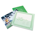 """GBC SelfSeal Laminating Pouch - Laminating Pouch/Sheet Size: 9.06"""" Width x 11.56"""" Length x 8 mil Thickness - for Photo - Self-adhesive, Repositionable - Clear - 5 / Pack"""
