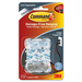 3M Cord Clips, Large, 3 Adhesive Strips, 2/Pack, Clear - 1 Pack