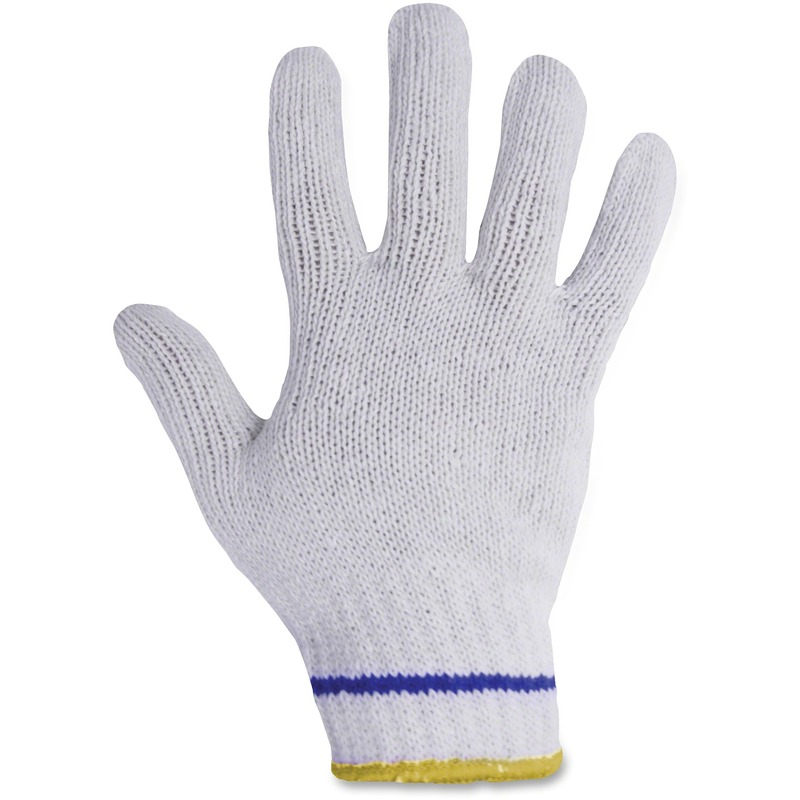 RONCO Poly/Cotton Blue Lined Gloves