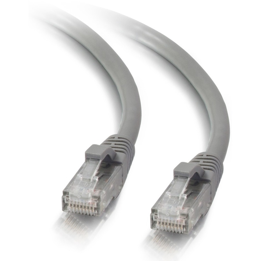 10ft Cat5e Snagless Unshielded Utp Network Patch Cable Gray Male Ethernet Cat 5 Wiring Diagram Accessories Connector Cables Category 5e For Published