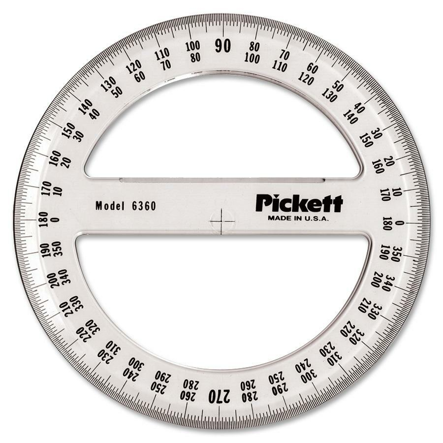 Chartpak Full Circle Protractor - Madill - The Office Company