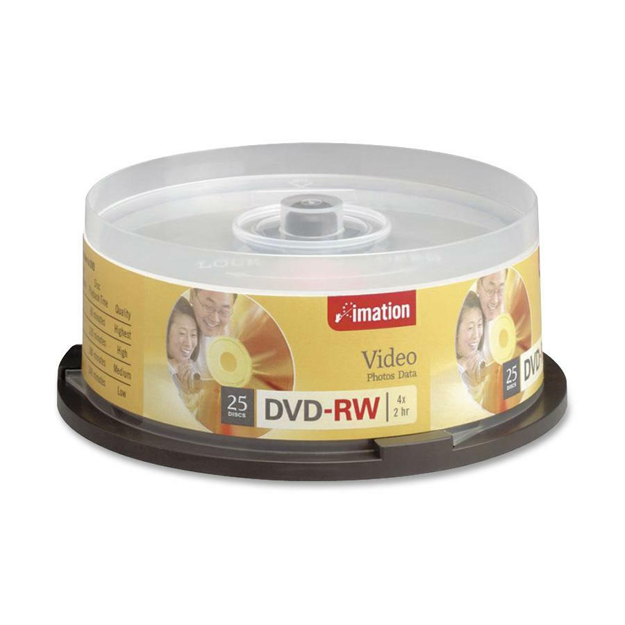 Verbatim dvd rw 4 7gb 4x with branded surface 30pk spindle 4 7gb - Click To Enlarge