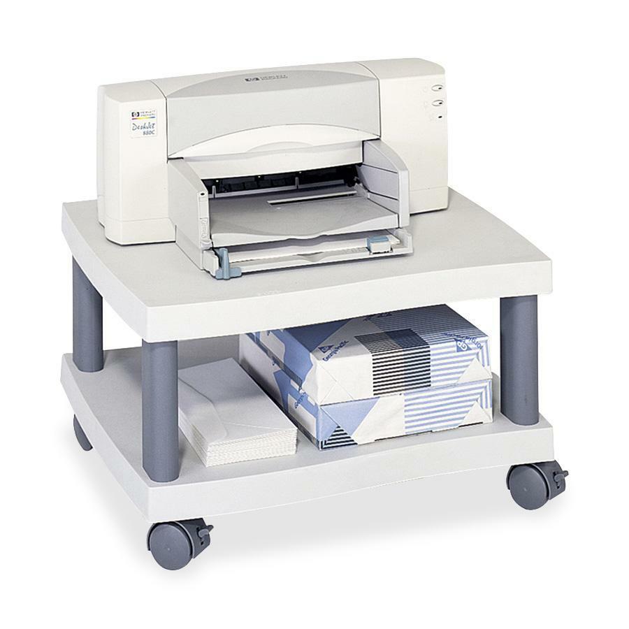 Safco Economy Under Desk Printer Stand 1 X Shelf Ves Plastic