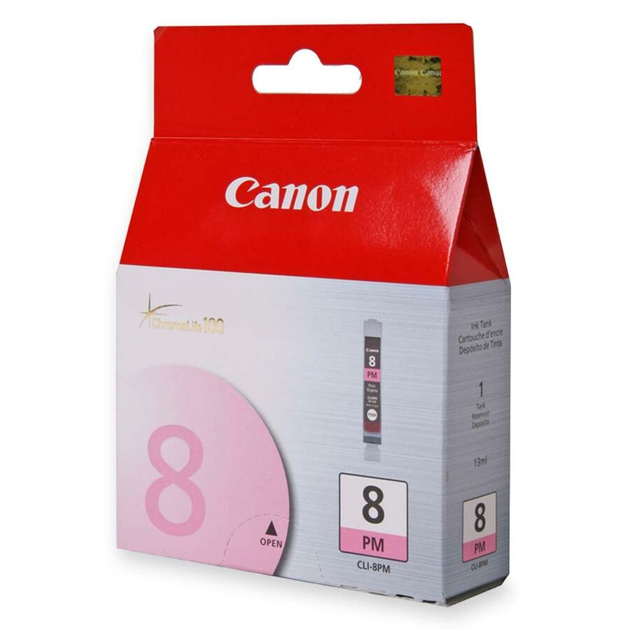 CANON CLI-8PM Original Ink Cartridge - Photo Magenta - Inkjet - 1 Pack