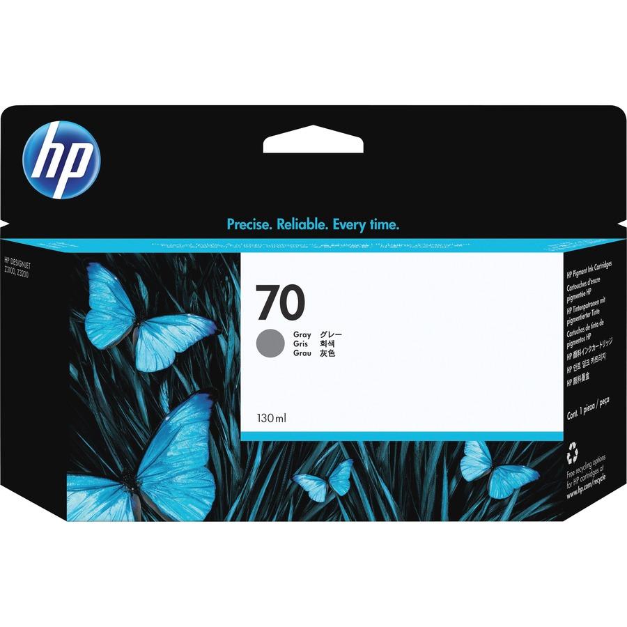 HP No. 70 Ink Cartridge - Grey