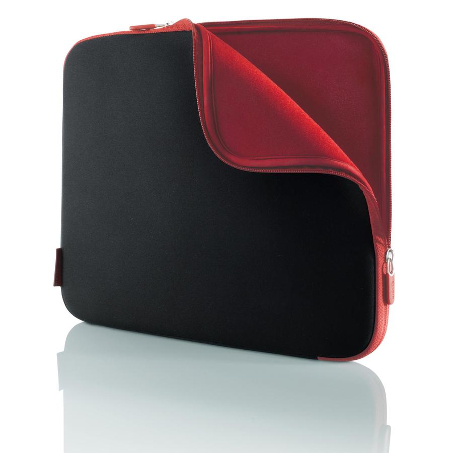 Belkin F8N049EABR Notebook Case - Neoprene - Jet, Cabernet