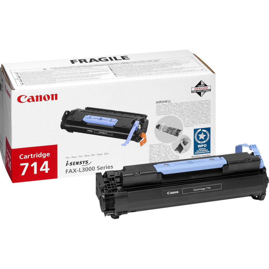 Canon 714 Toner Cartridge - Black