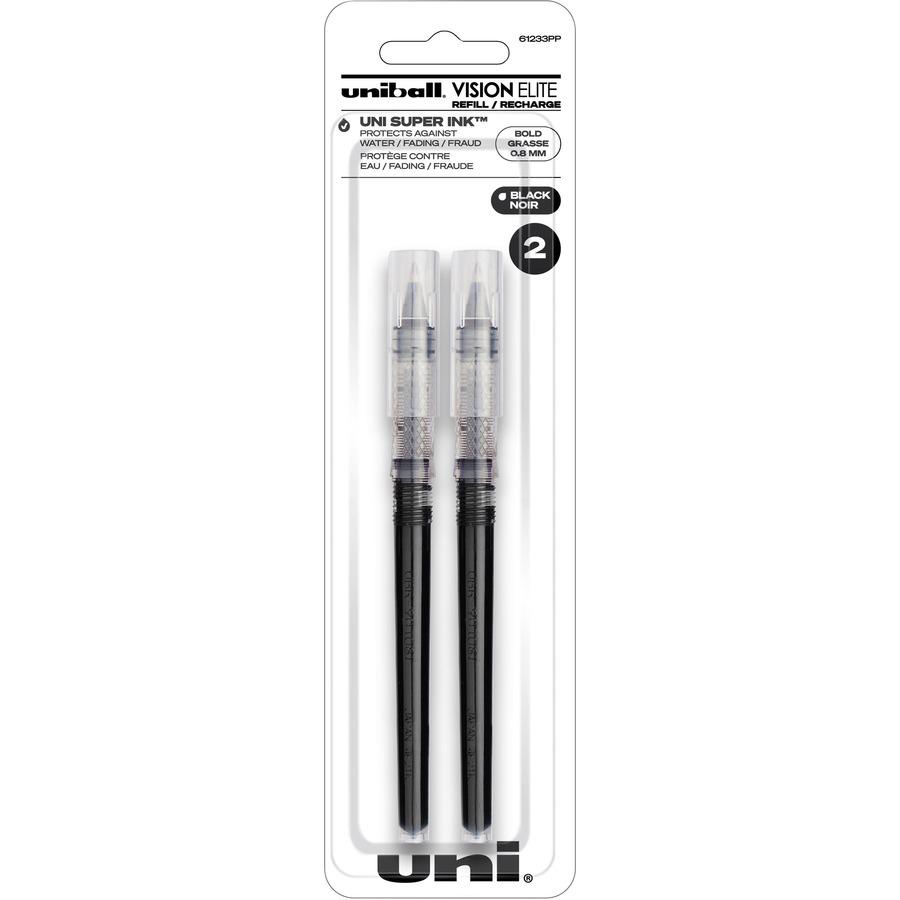 Uniball Vision Elite Pen Refill Black