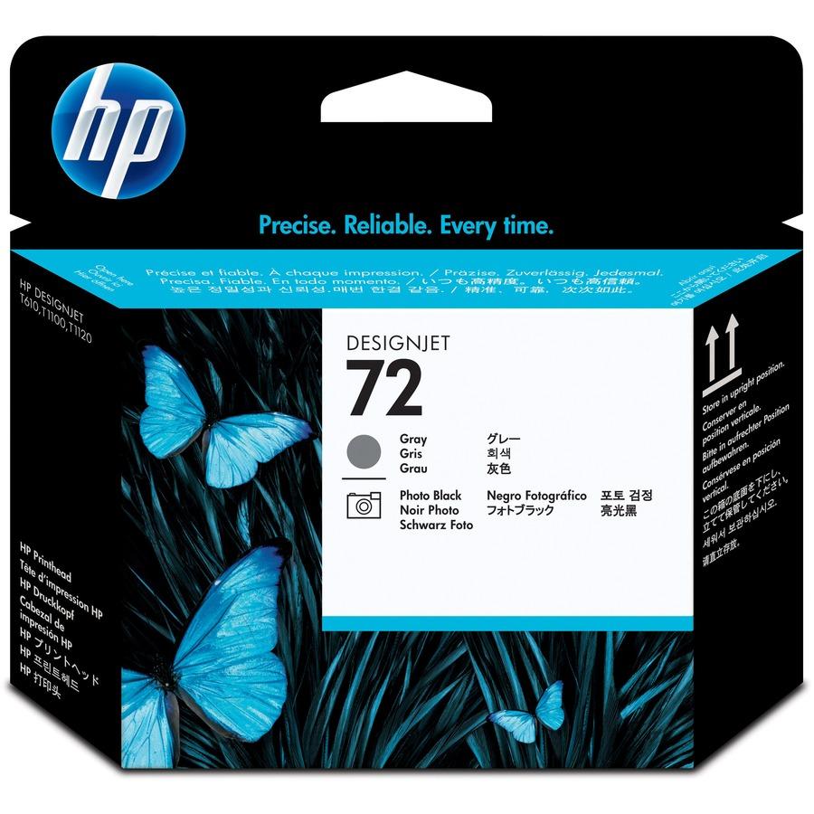 HP 72 Original Printhead - Grey - Inkjet - 1 Each