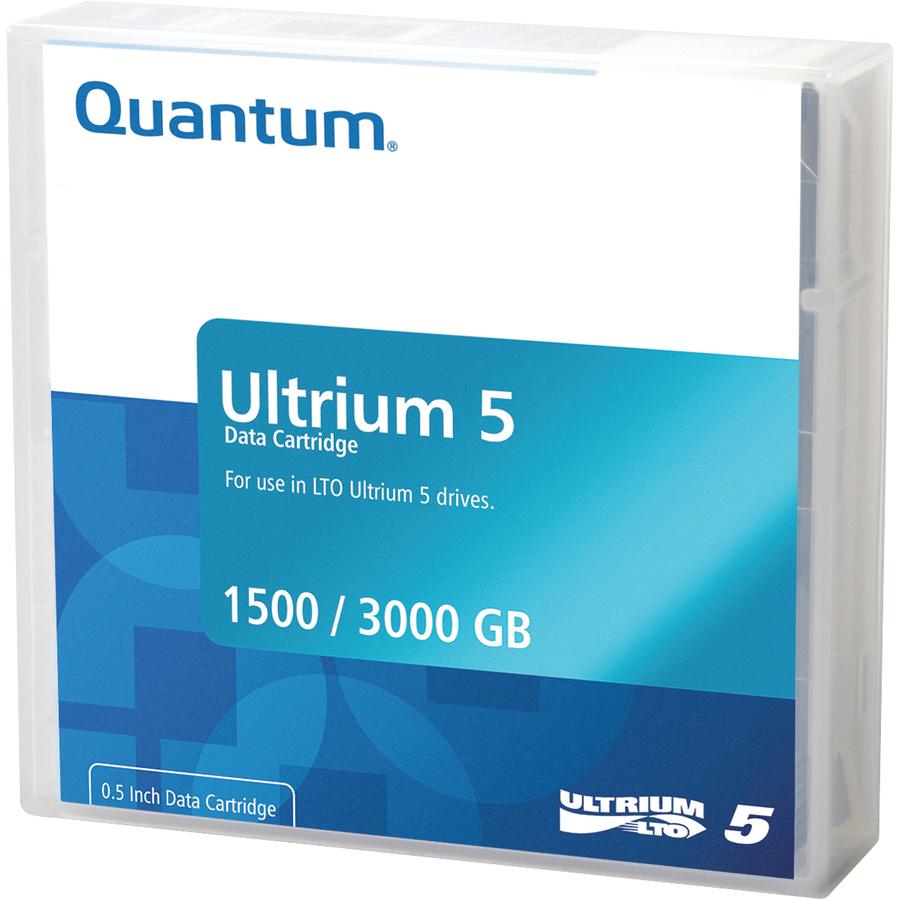 Quantum MR-L5MQN-01 Data Cartridge LTO-5 - 1 Pack - 1.50 TB (Native) / 3 TB (Compressed)