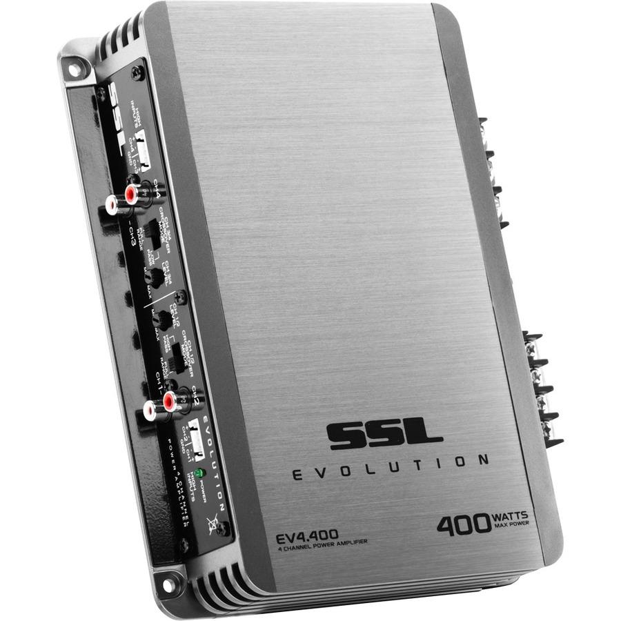Soundstorm Ev4400 400w 4 Channel Car Audio Amplifier Amp 8 1600w Digital Bridgeable Pro Kit Gallery