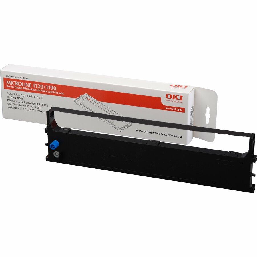 Oki 43571802 Ribbon Cartridge - Black