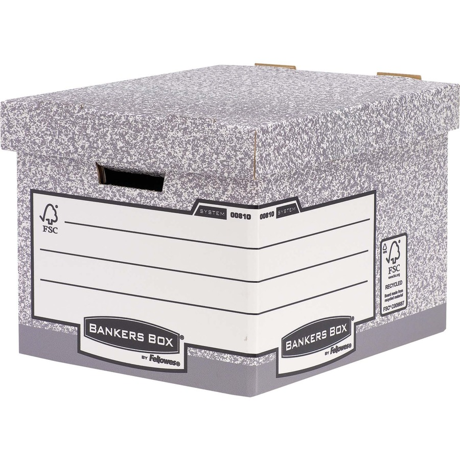Fellowes R-Kive BANKERS BOX Storage Case (Box) for File, Transfer File, Suspension File
