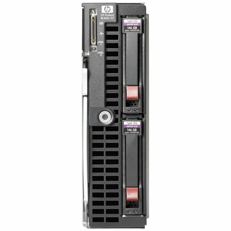 HPE ProLiant Barebone System Blade - Intel 5520 Chipset - Socket B LGA-1366 - 2 x Processor Support