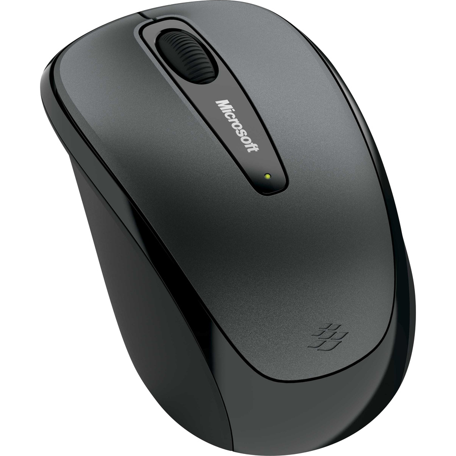 Microsoft 3500 Mouse - BlueTrack - Wireless - USB - Scroll Wheel - Symmetrical