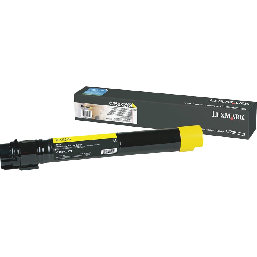 Lexmark C950X2YG Toner Cartridge - Yellow