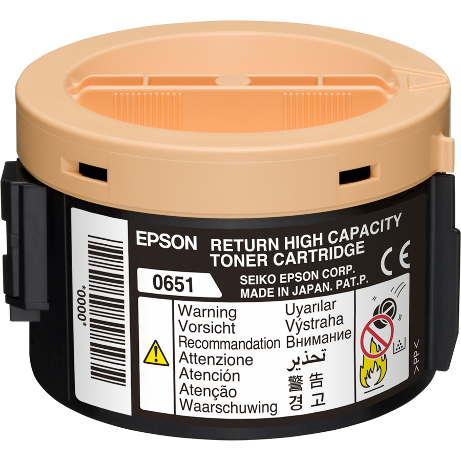 Epson C13S050651 Toner Cartridge - Black