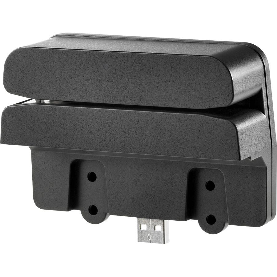 HP Magnetic Stripe Reader - USB - Black
