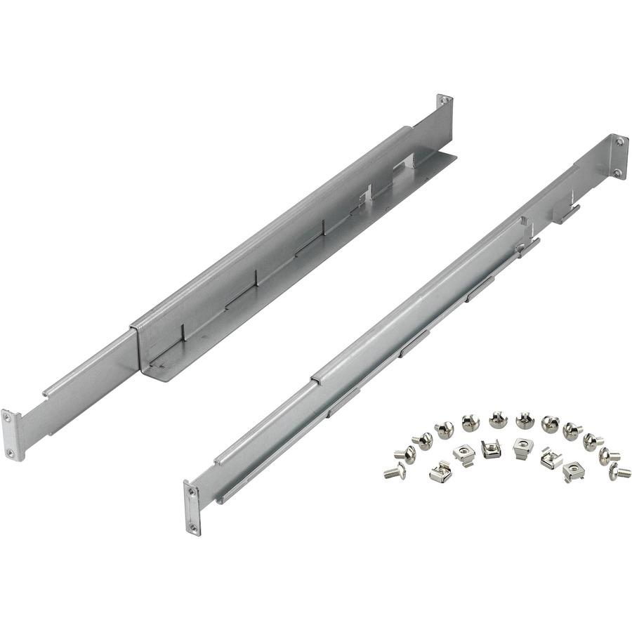 POWERWALKER RT Rack-Kit 1-3KVA Mounting Rail Kit for UPS - Silver - Silver