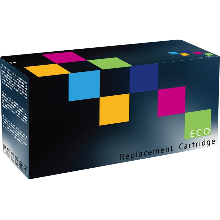 Eco Compatibles Toner Cartridge - Remanufactured for HP - High Yield - 17000