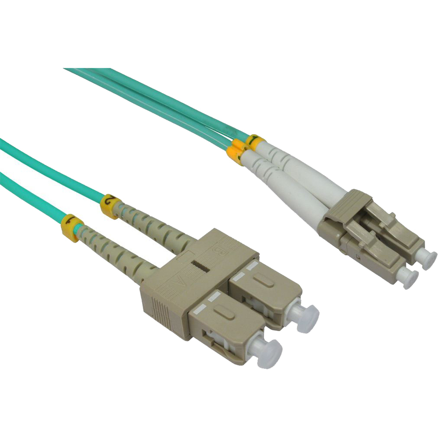 0.5m Cables Direct Fibre Optic Network Cable - LC - SC
