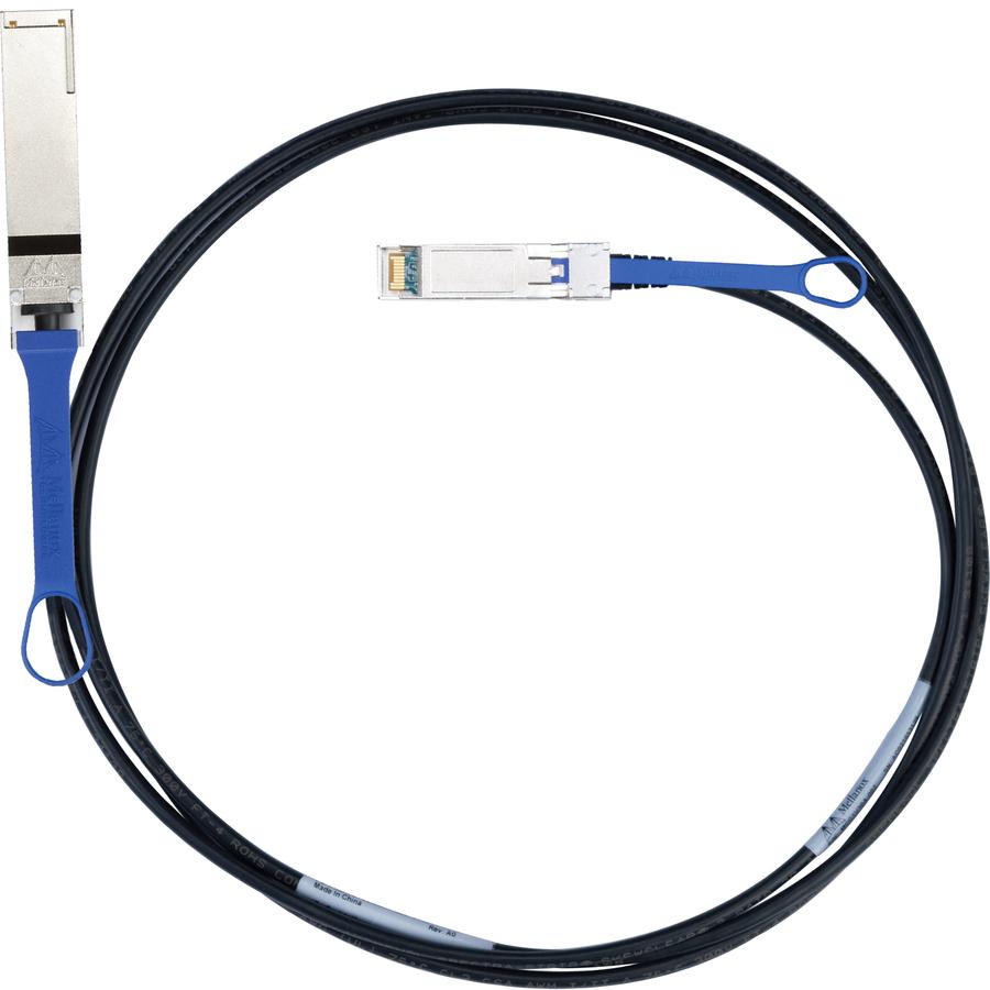 Mellanox QSFPplus/SFPplus Network Cable for Network Device - 1 m - 1 x SFF-8436 QSFPplus - 4 x SFF-8431 SFPplus