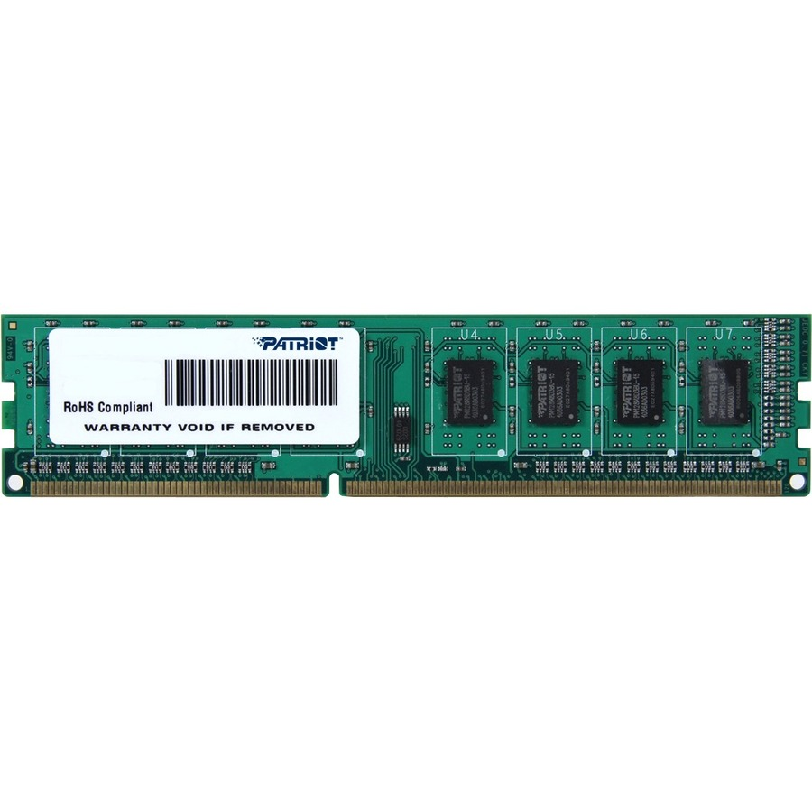 PATRIOT MEMORY Signature RAM Module - 4 GB - DDR3-1333/PC3-10600 DDR3 SDRAM - CL9 - 1.50 V