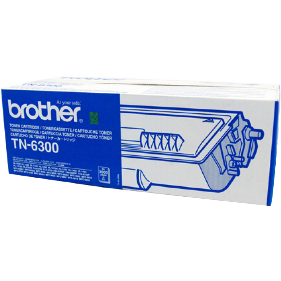 Brother TN-6300 Toner Cartridge - Black