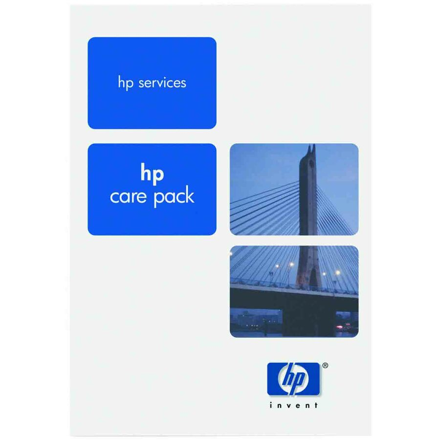 HP Care Pack - 1 Year - Service - 9 x 5 - On-site - Maintenance - Parts & Labour - Physical Service