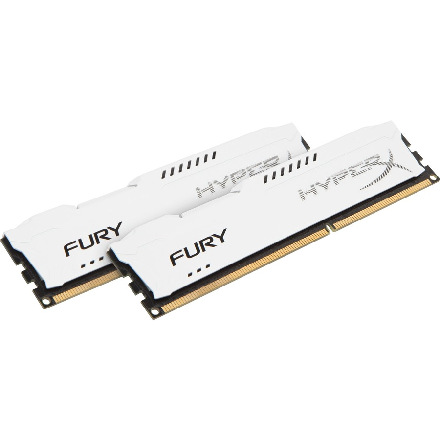 Kingston HyperX Fury RAM Module - 16 GB 2 x 8 GB - DDR3 SDRAM - 1333 MHz DDR3-1333/PC3-10600