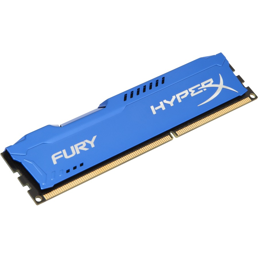 Kingston HyperX Fury RAM Module - 4 GB 1 x 4 GB - DDR3 SDRAM - 1333 MHz DDR3-1333/PC3-10667
