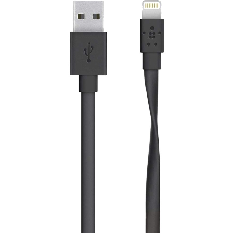 Belkin Lightning/USB Data Transfer/Power Cable for iPad, iPhone, iPad Air, iPad mini, iPod - 1.22 m
