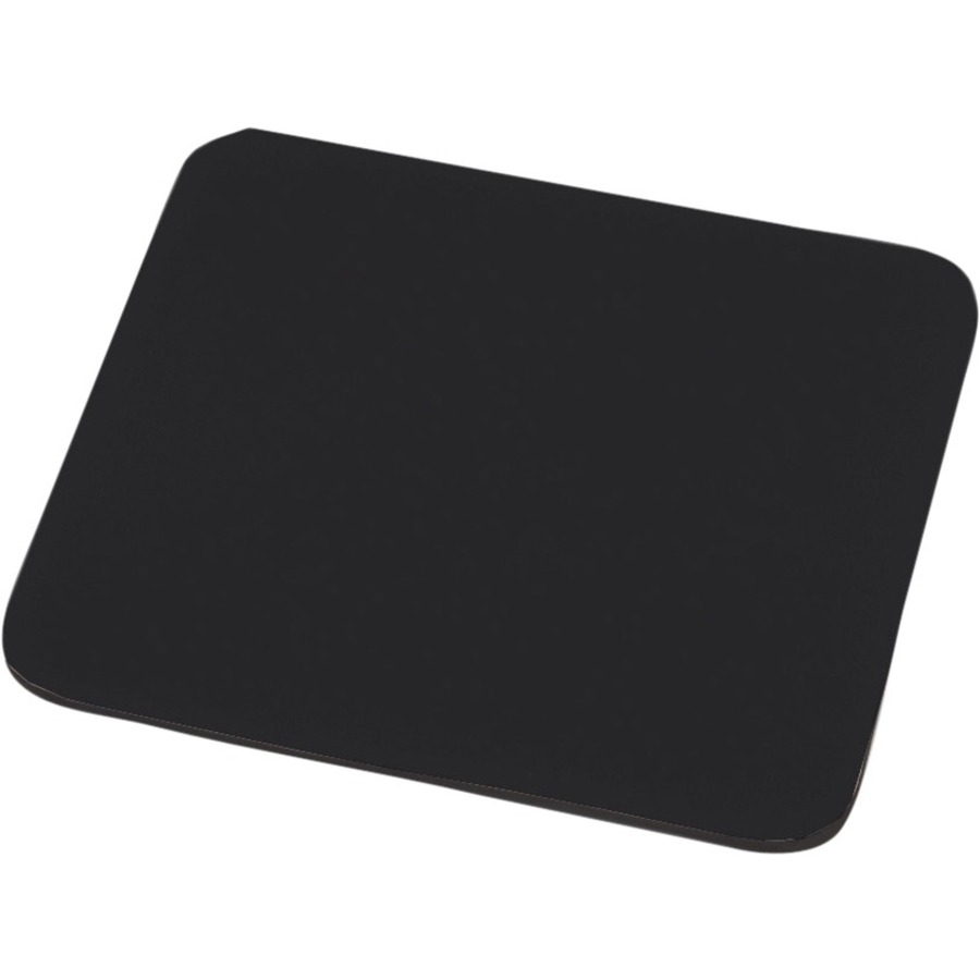 EDNET Mouse Pad - 248 mm x 216 mm Dimension - Black - Polyester, EVA