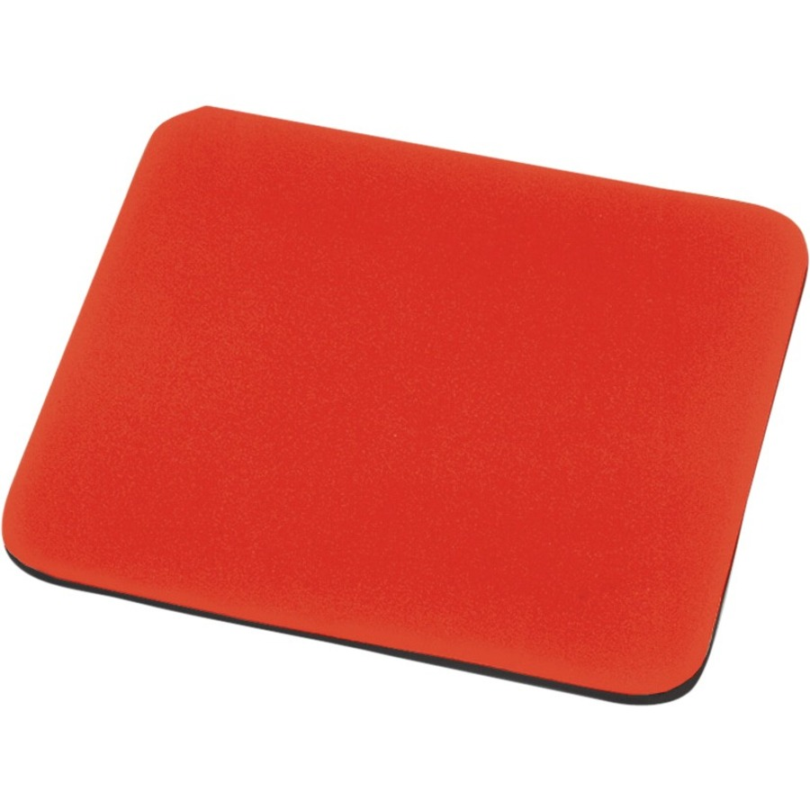 EDNET Mouse Pad - 248 mm x 216 mm Dimension - Red - Polyester, EVA