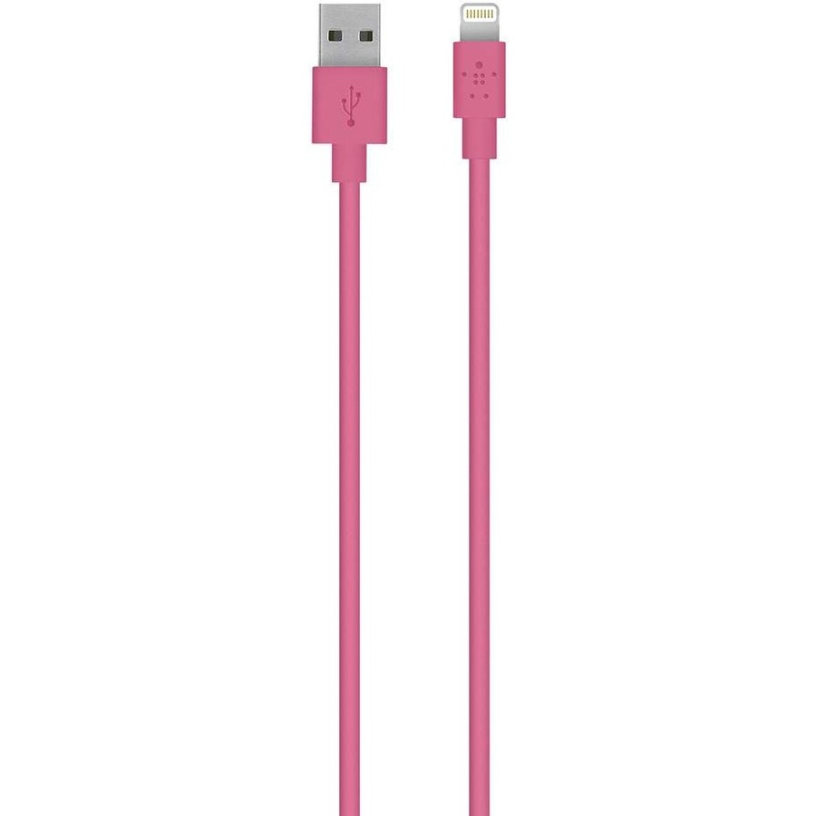 Belkin MIXIT? Lightning/USB Data Transfer Cable for iPad, iPod, iPhone, Notebook - 3 m